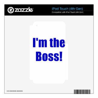 Im Boss Skins Para iPod Touch 4G