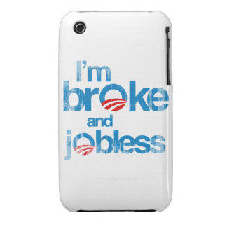 I'm broke and jobless iPhone 3 cover