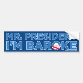 I'm Broke Car Bumper Sticker