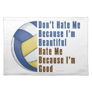 Im buen voleibol Im hermoso Mantel Individual