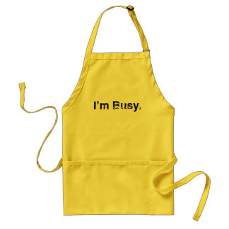 I'm Busy Apron