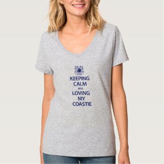 I'm Calm Coastie T-Shirt. Shirt