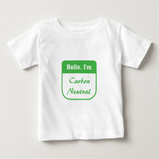 I'm carbon neutral infant t-shirt
