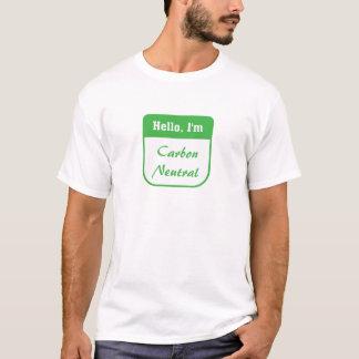 I'm carbon neutralmen's t-shirt