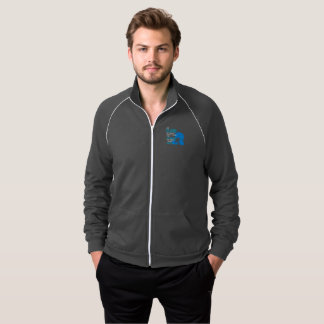 I'm Changing Things Men's Fleece Track Jacket