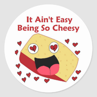 I'm Cheesy Stickers