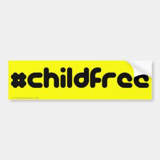 I'm Childfree Bumper Sticker