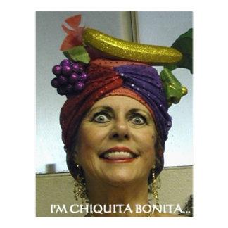 I'M CHIQUITA BONITA FLYER