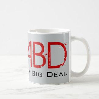 Im clase de una gran cosa taza de café
