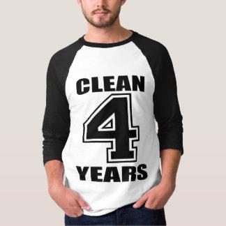 I'm Clean 4 Years! T-Shirt