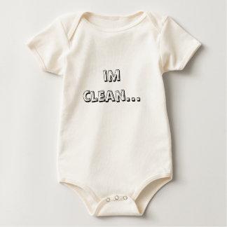 im clean... baby bodysuit
