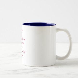 I'm Coffee. Two-Tone Coffee Mug