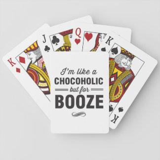 Im como un Chocoholic pero para los licores Baraja De Póquer