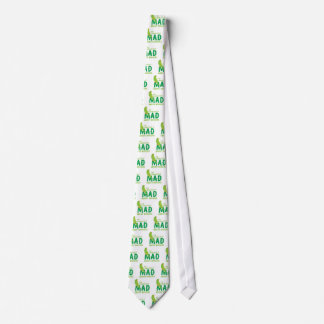 I'm completely mad about budgies neck tie
