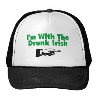 Im con el irlandés borracho gorras