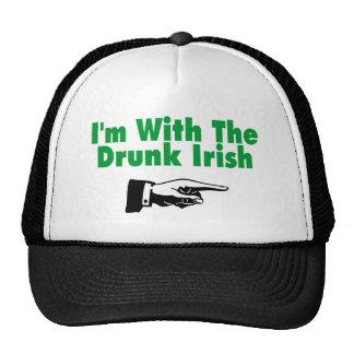 Im con el irlandés borracho gorras de camionero