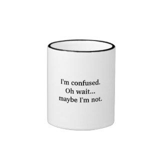 I'm confused.  Oh wait...maybe I'm not. Ringer Mug