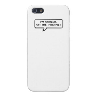 'I'm Cooler, on the Internet' Cover For iPhone SE/5/5s