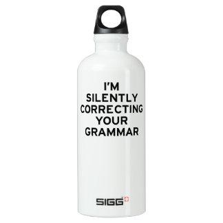 I'm Correcting Grammar SIGG Traveler 0.6L Water Bottle