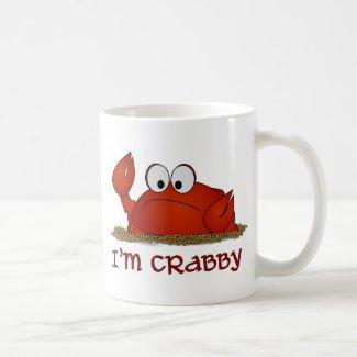 I'm Crabby Coffee Mugs