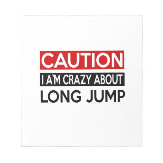 I'M CRAZY ABOUT LONG JUMP MEMO PAD