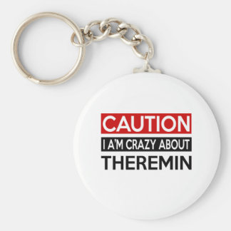 I'M CRAZY ABOUT THEREMIN KEYCHAIN