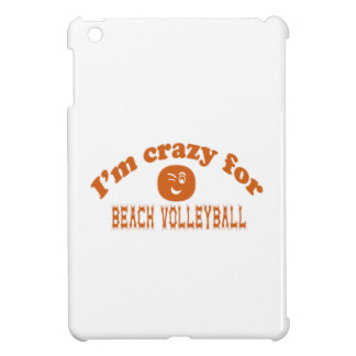 I'm crazy for Beach Volleyball. Case For The iPad Mini