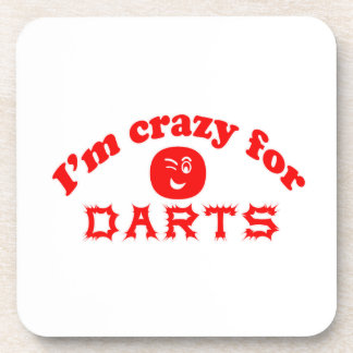I'm crazy for Darts. Drink Coasters