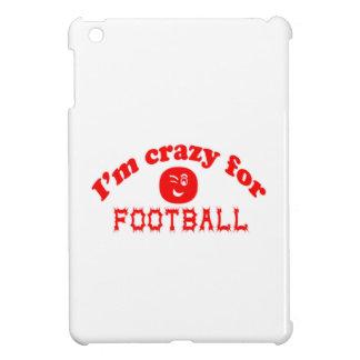 I'm crazy for football. iPad mini case