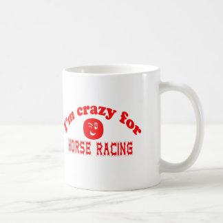 I'm crazy for Horse Racing. Mug