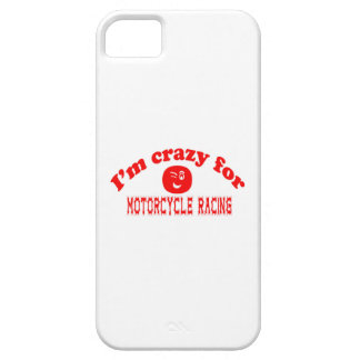 I'm crazy for Motorcycle Racing. iPhone 5 Covers