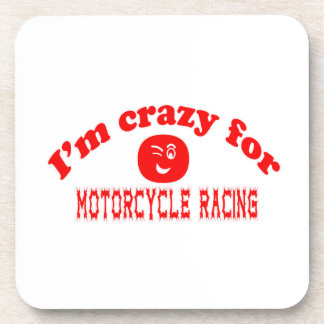 I'm crazy for Motorcycle Racing. Coasters