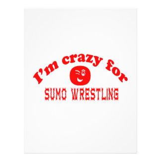 I'm crazy for Sumo Wrestling. Letterhead