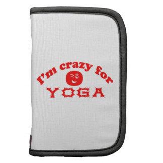 I'm crazy for Yoga. Folio Planners