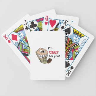 I'm Crazy For You! Bicycle Playing Cards
