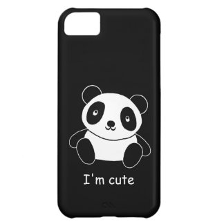 I'm Cute Panda Cover For iPhone 5C