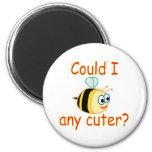 I'm Cute Refrigerator Magnet