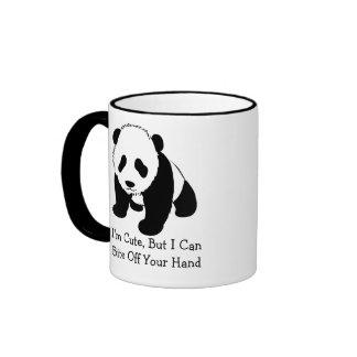 I''m Cute Ringer Coffee Mug