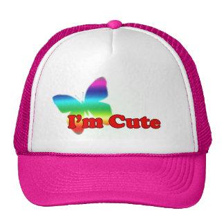 I'm cute... trucker hat