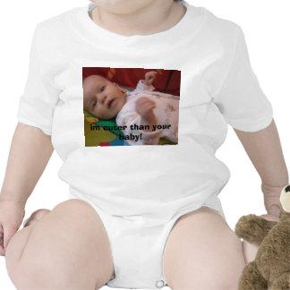 im cuter 1, im cuter than your baby! tee shirts
