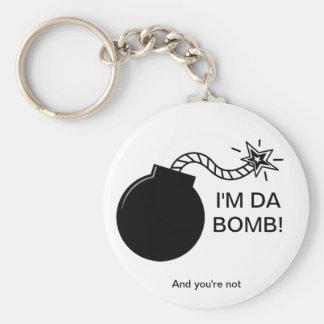 I'm Da Bomb! Keychain