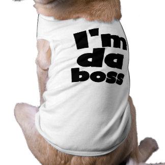 I'm Da Boss Dog Tshirts