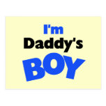 I'm Daddy's Boy T-shirts and Gifts Post Cards