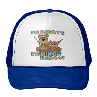 I'm Daddy's Fishing Buddy T-shirts and Gifts Hat