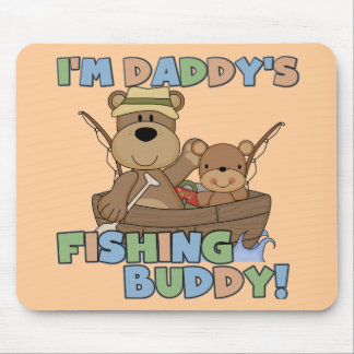 I'm Daddy's Fishing Buddy T-shirts and Gifts Mousepads