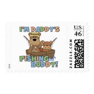 I'm Daddy's Fishing Buddy T-shirts and Gifts Stamps