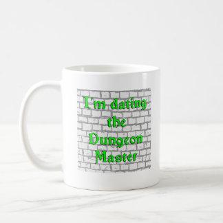 I'm dating the Dungeon Master Classic White Coffee Mug