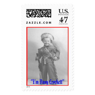 I'm Davy Crockett, Postage