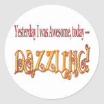 I'm Dazzling funny stickers