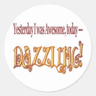 I'm Dazzling funny stickers